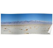 Panamint Mountains, Death Valley National Park, USA Poster