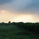 Ferrensby evening sky by nathanw08