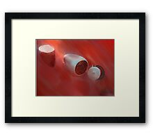 Thirties Tail Framed Print