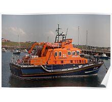 The William Gordon Burr  the Portrush Lifeboat Poster