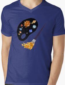 Planetary Palette Mens V-Neck T-Shirt