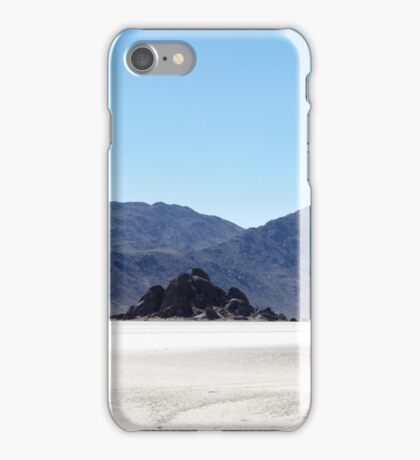 The Racetrack, Death Valley National Park, USA iPhone Case/Skin
