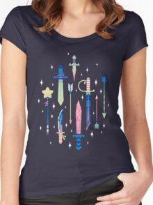 Magical Weapons Women's Fitted Scoop T-Shirt