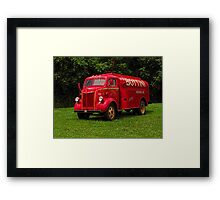 1951 Ford Oil Truck Framed Print