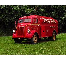 1951 Ford Oil Truck Photographic Print