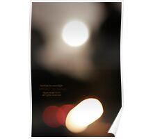 bonfires by moonlight Poster