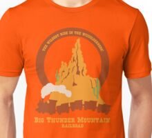 Big Thunder Mountain Railroad Unisex T-Shirt