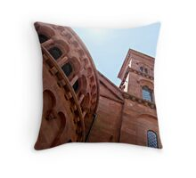 Smithsonian - The Arts and Industries Building Throw Pillow