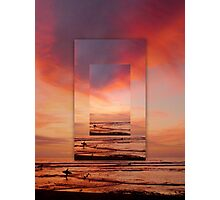 """Solana Beach Sunset"" Photographic Print"