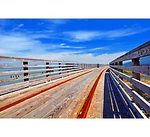 Trolley Tracks Photographic Print