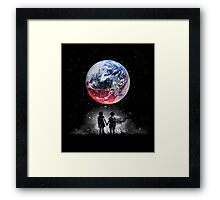 Until The End Of The World Framed Print