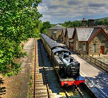 Hawes Railway Station by Tom Gomez