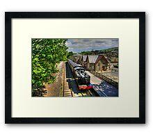 Hawes Railway Station Framed Print
