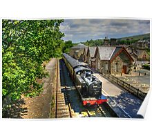 Hawes Railway Station Poster
