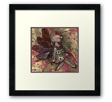 Pressed Fairy Framed Print