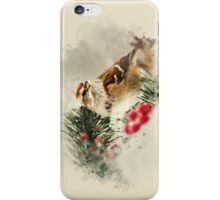 American Tree Sparrow Watercolor Art iPhone Case/Skin