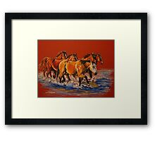 """Cool Crossings"" Framed Print"