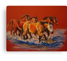"""""""Cool Crossings"""" Canvas Print"""