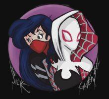 Gwen and Silk by PartofyourworId
