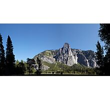 Sentinel Rock,Yosemite, Sierra Nevada, USA. Photographic Print