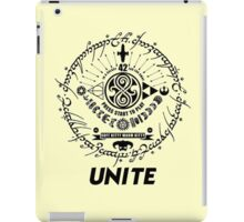 Nerds, geeks and dorks UNITE! iPad Case/Skin