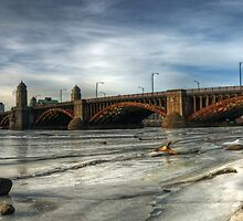 Longfellow Bridge by d1373l