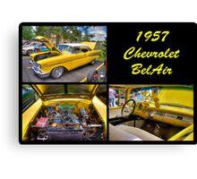 1957 Chevrolet Bel Air Canvas Print