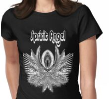 Spirit Angel Womens Fitted T-Shirt