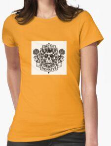 Arctic Monkeys Logo Womens Fitted T-Shirt