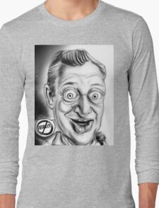 Rodney Dangerfield Caricature Long Sleeve T-Shirt