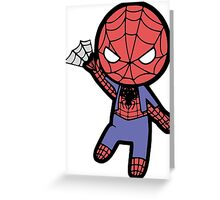 Crazy Spider Greeting Card