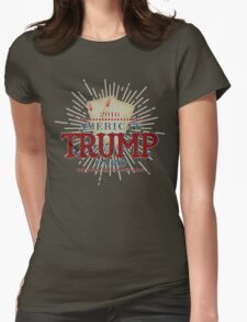 America's TRUMP Card - 2016 Elections - Vote for Donald Trump - Trump for President Womens Fitted T-Shirt