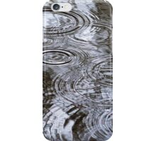 Abstract Rain Drops iPhone Case/Skin