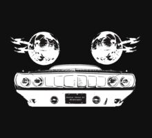 Phantasm Cuda (white on black version) by SynthOverlord