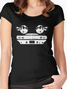 Phantasm Cuda (white on black version) Women's Fitted Scoop T-Shirt