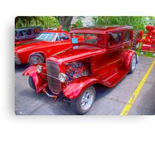 1936 Model A  Ford Hot-Rod Canvas Print
