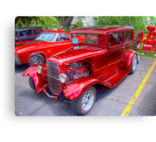1936 Model A  Ford Hot-Rod Canvas Print
