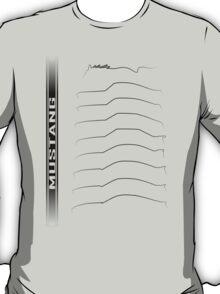 Mustang Generations Black T-Shirt