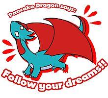 Pancake Dragon Says by Flauschwurm