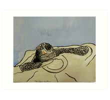Sea Turtle art Art Print