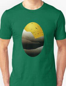 Sunrise Mountain Landscape Art T-Shirt