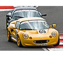 Lotus Elise Battle Photographic Print