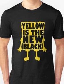 Yellow is the New Black (ver 2) Unisex T-Shirt