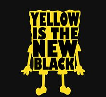 Yellow is the New Black (ver 2) Womens Fitted T-Shirt