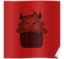 Devil food cupcake Poster