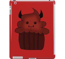 Devil food cupcake iPad Case/Skin