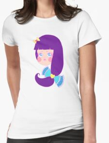 Purple Haired Girly T-Shirt