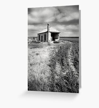 Bowhill House Ruin, South Australia Greeting Card