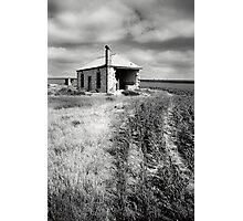 Bowhill House Ruin, South Australia Photographic Print