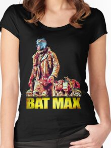 BAT MAX - Justice Road Women's Fitted Scoop T-Shirt